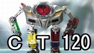 getlinkyoutube.com-CT120 劇中完全再現!? ベルトさんロボ ドライブドライバーに取付キット beltsan  robot kit review