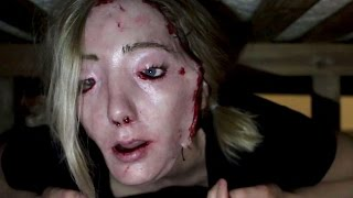 getlinkyoutube.com-Creepy Realistic Skin Mask