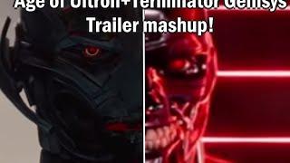 getlinkyoutube.com-AVENGERS 2: AGE OF ULTRON + Terminator Genisys Trailer Mash-up
