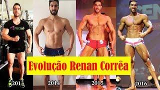 Evolução Renan Corrêa 4FitClub - Antes e Depois