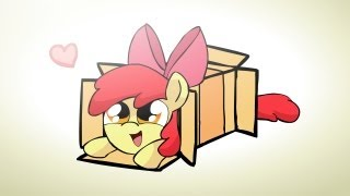 getlinkyoutube.com-Ponies sliding into a box v2.0