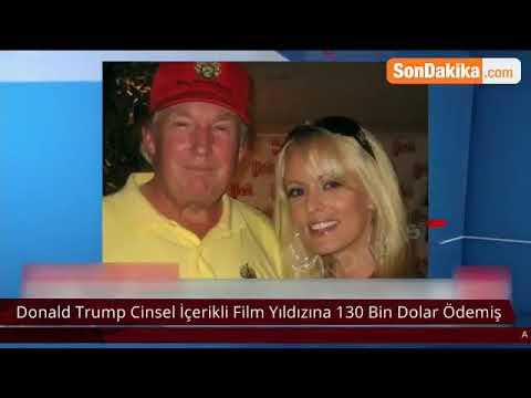 ABD'yi Karıştıran İddia! Trump Cinsel İçerikli Film Yıldızına 130 Bin Dolar Ödemiş