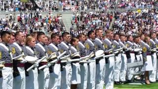 getlinkyoutube.com-*2015 West Point Graduation Oath to Toss
