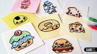 getlinkyoutube.com-How To Draw Cute Food  - Easy and Kawaii Drawings by Garbi KW
