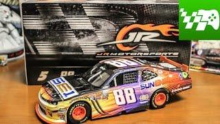 getlinkyoutube.com-NASCAR Diecast Review - Kenny Habul Sun Energy 1 1:24
