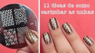 getlinkyoutube.com-11 dicas de como usar carimbo nas unhas