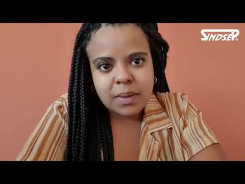 A vereadora Luana Alves declara seu apoio a greve da educação
