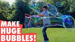 getlinkyoutube.com-Make 35-foot long bubbles!