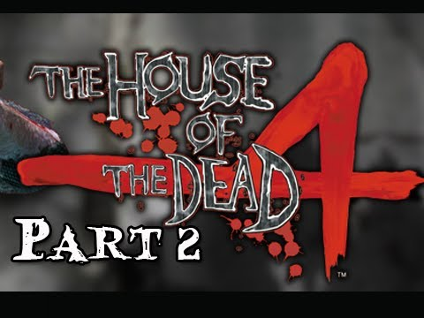 House of the Dead 4 Walkthrough - Part 2 [Chapter 2] Lost PS3 Move Let's Play