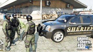 getlinkyoutube.com-GTA 5 - LSPDFR - EPiSODE 89 - LET'S BE COPS - SHERIFF/ SWAT (GTA 5 PC POLICE MODS) #PrayForParis