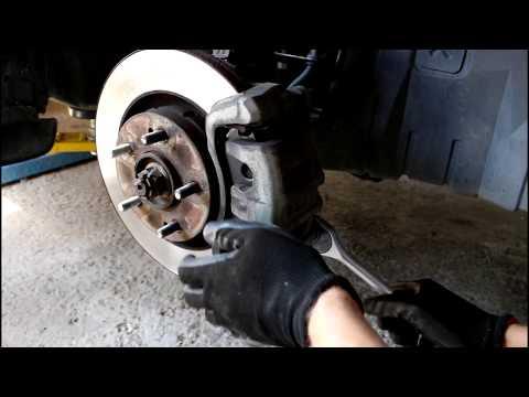 Где задние тормозные диски в Citroen C-Crosser