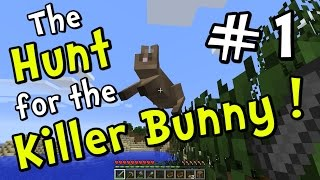 getlinkyoutube.com-Minecraft 1.8 - Hunt for the Killer Bunny! Part 1