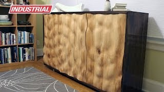 getlinkyoutube.com-Water Cabinet Doors CNC Project Using Spiral & Insert Straight Amana Tool Industrial Router Bits