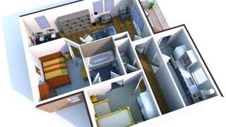 getlinkyoutube.com-Sweet Home 3D virtualização de projetos para casas HD 720p