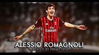 getlinkyoutube.com-Alessio Romagnoli - Defensive Skills, Tackles & Passes - 2016/2017 AC Milan - HD