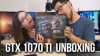FRIDAY FEELING GTX 1070 Ti LIVE UNBOXING!!