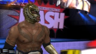 getlinkyoutube.com-WWE Smackdown Vs. Raw 2010 :Reymysterio VS. The Great Khali (PS2)