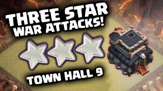 getlinkyoutube.com-Clash of Clans - Best Town Hall 9 War Strategies