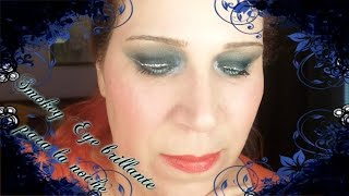 getlinkyoutube.com-Smokey Eye Brillante para la Noche