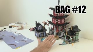 Building Bag #12 - LEGO Ninjago Temple of Airjitzu 70751