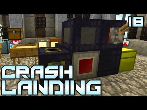 "Minecraft Crash Landing 18 - ""Amazingly Fast Auto Sifter!!!"" (Modded Minecraft)"