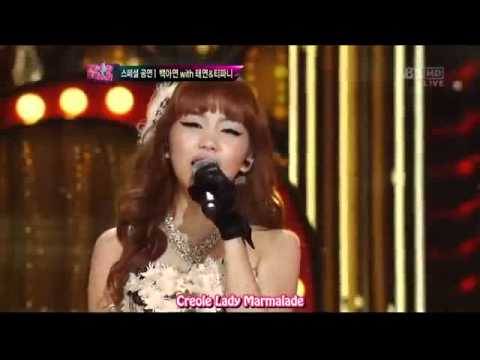 [SUBSPANISH] Taeyeon, Tiffany & Ahyeon - Lady Marmalade