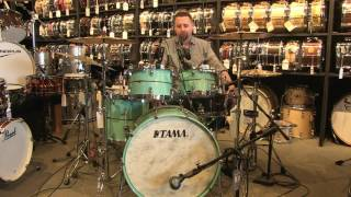 getlinkyoutube.com-Tama Star Maple Drum Set 22/10/12/14/16