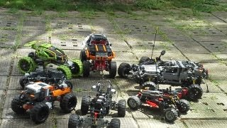 getlinkyoutube.com-Lego Offroad meeting 6.7.2013