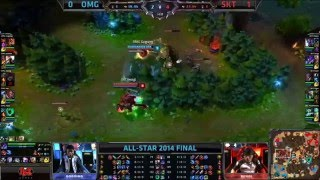 getlinkyoutube.com-Best Of Faker All Star! League Of Legends [lol] 2014