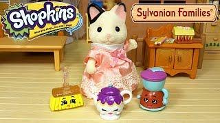 getlinkyoutube.com-Красавица и Чудище! Мультик с игрушками Shopkins и Sylvanian Families