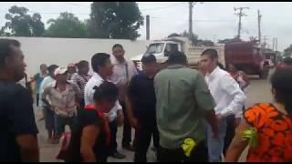Diputado Huerta amenaza a habitantes de Ojitlán