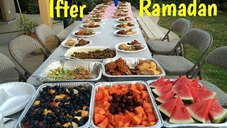 Iftar Party in Ramadan- Bangladeshi Traditional Iftar - Families Get Together