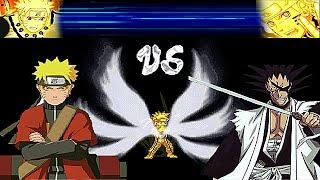 getlinkyoutube.com-Bleach Vs Naruto 2.4 - Single Combat #3 - Game Show - Game Play - 2015 - HD