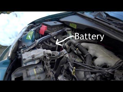 Replacing Battery in GM Venture, Montana, Silhouette, Trans Sport, Terraza, GL8, Sintra '97-'08