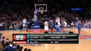 getlinkyoutube.com-Kevin Durant  34PTS v New York Knicks 03/07/2013
