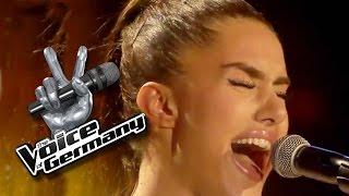getlinkyoutube.com-One Last Time - Ariana Grande | Helin Ag Cover | The Voice of Germany 2015 | Audition
