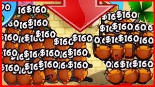 getlinkyoutube.com-COBRA MADNESS! - Bloons TD Battles Strategy - COBRAS MAKING $160 EACH!?