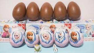 getlinkyoutube.com-アナと雪の女王 チョコエッグ Frozen Suprise Chocolate Eggs