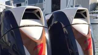getlinkyoutube.com-Engine Start - Twin Seven Marine 627s | Intrepid Powerboats 375 Center Console