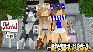 getlinkyoutube.com-Minecraft - Vampire Diaries-LITTLE KELLY GETS SPOOKED AT A MOTEL!!