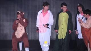 getlinkyoutube.com-160320 The EXO'luXion Dot 동물잠옷 댄스릴레이!