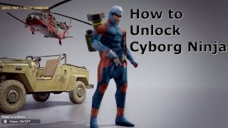 How to Unlock Cyborg Ninja Armor And Showcase Metal Gear Solid 5 The Phantom Pain