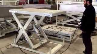 getlinkyoutube.com-Makaslı Yük Kaldırma Platformu- scissor lifting platform
