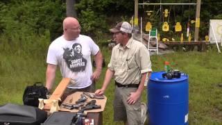 getlinkyoutube.com-Can a slingshot hit harder than handguns? The Shootout.