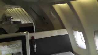 getlinkyoutube.com-Lufthansa First Class Flight from Orlando to Frankfurt   25 May 2015