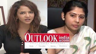 getlinkyoutube.com-Manchu Lakshmi Fires On Out Look Magazine || Smita Sabharwal || Telangana IAS Officer
