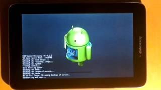 getlinkyoutube.com-Lenovo IdeaTab A2107A-H + ROOT + Clockwork Mod Recovery 6.0.1.5