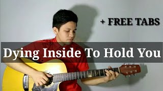 Dying Inside To Hold You- Darren Espanto/Timmy Thomas (Fingerstyle Guitar Cover)
