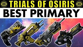 Destiny: BEST Trials of Osiris PRIMARY! | Are Year 2 Trials Guns DISAPPOINTING?
