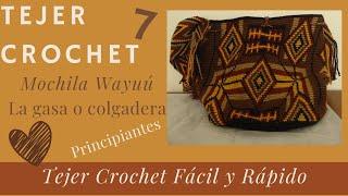 getlinkyoutube.com-Como tejer una mochila wayúu paso a paso.(7) Acabados.